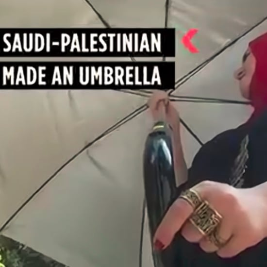 Solar-Powered Umbrella With In-Built Fan Charges Phones
