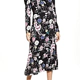 AFRM Caley Wrap Midi Dress
