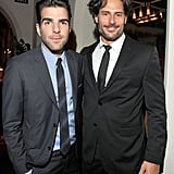 Zachary Quinto and Joe Manganiello partied together in LA.