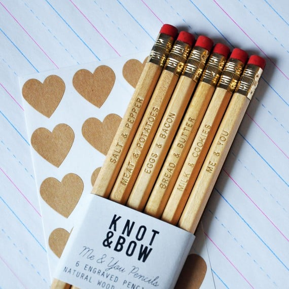 These Gold Engraved Pencils ($12) are a cute and inexpensive gift for your co-worker, sister, or best friend.