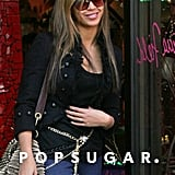 Beyoncé spent the lucky St. Patrick's Day holiday shopping in NYC in March 2009.