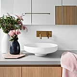 Houzz are seeing no signs of the metallic trend abating. Copper and gold will still be coveted in 2018, but they predict brass will take the cake.