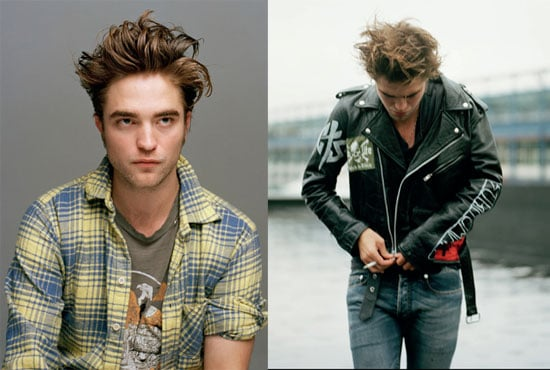 Photos of Twilight and New Moon's Robert Pattinson in Dossier Journal