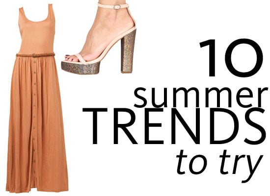 Top 10 Micro-Trends to Instantly Update Your Summer Wardrobe: Button Through Dresses, Glitter Heels, Short Suits & more!
