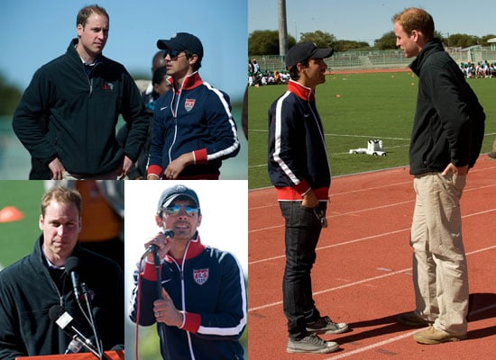 Pictures of Prince William and Joe Jonas in Africa