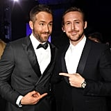 Pictured: Ryan Gosling and Ryan Reynolds
