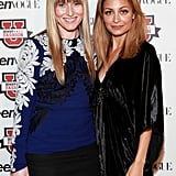 Nicole Richie posed with Amy Astley at the Teen Vogue Fashion University event in NYC.