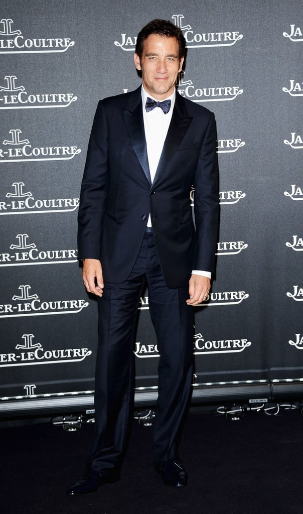 Clive Owen looked dapper in a tux for the Jaeger-LeCoultre party in Venice.