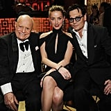 Johnny Depp and Amber Heard at Don Rickles Tribute