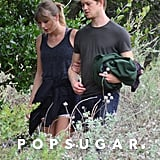 Taylor Swift and Joe Alwyn Hiking in Malibu in March 2018