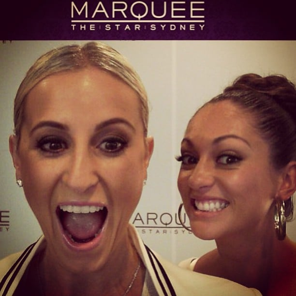Roxy Jacenko and Layla Subritzky became close friends on the show. Source: Instagram user sweatybettypr
