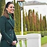 Kate Middleton Wearing Velvet Headband in Ireland