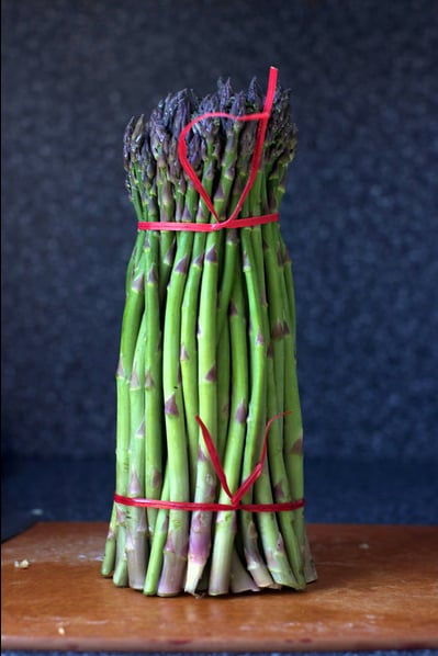 Deb of the much-followed cooking blog Smitten Kitchen sells prints of her mouthwatering photos in a range of sizes and finishes (under $100 to $300). This bundled asparagus photo is one of my favorites.