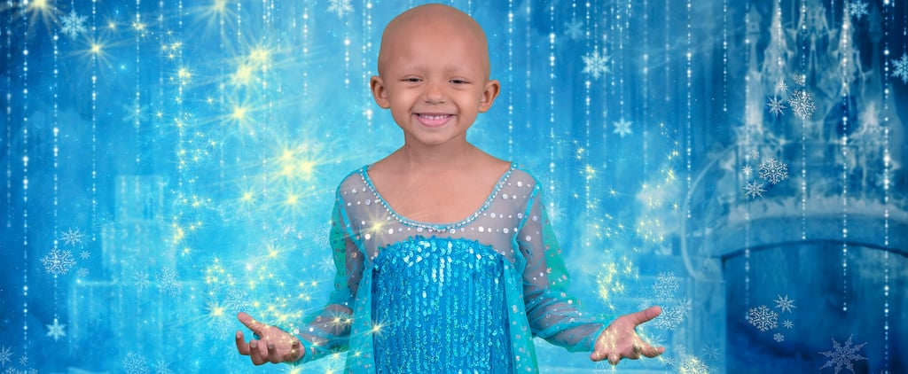 5-Year-Old With Kidney Cancer Disney Princess Photo Shoot