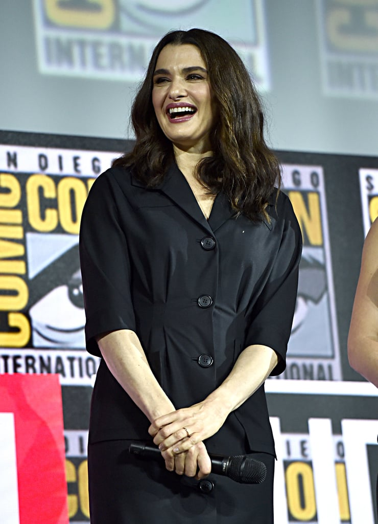 Pictured: Rachel Weisz at San Diego Comic-Con.
