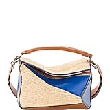 Loewe x Paula's Ibiza Puzzle Satchel Bag in Blue