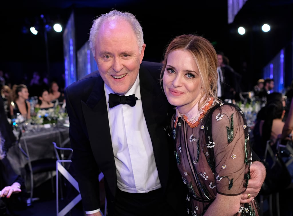 Pictured: Claire Foy, John Lithgow