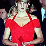 The Princess of Wales attended a dinner in her honor in Argentina in November 1995.