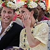 Will and Kate shared a secret.