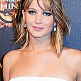 At the Hunger Games: Catching Fire party, Jennifer Lawrence wore a sophisticated smoky eye that is best saved for the black-tie wedding.