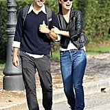 I love Olivia Wilde and Jason Sudeikis as a couple. When Jason came to visit Olivia on the set of her latest movie in Rome, they broke off to go sightseeing, talking and laughing the entire time. The good samaritans even helped out a family with a broken bike.   — Michelle Manning, editorial assistant