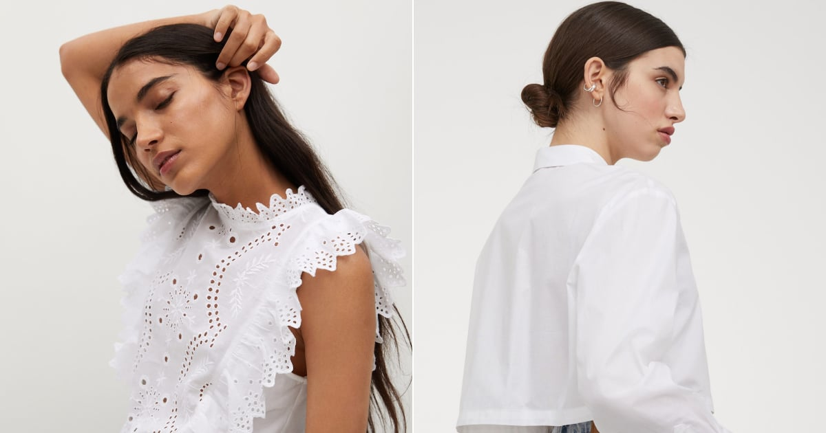 Just 24 Stylish White Tops Perfect For Welcoming Spring, All Under $75