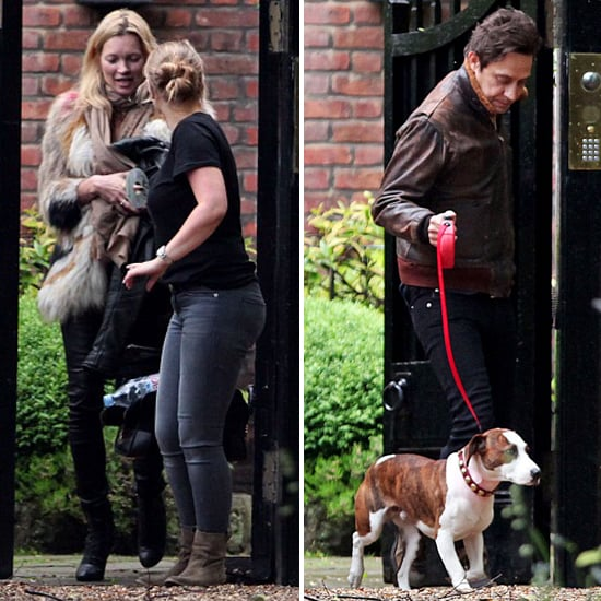 Kate Moss New Dog Pictures