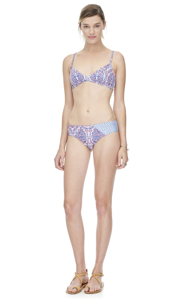 Rebecca Taylor's collaboration with swimwear label Giejo is downright adorable. I'm basically planning all of my vacation outfits around this bikini (top $125, bottom $100).  — HM, editor
