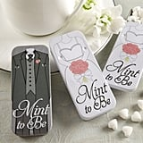 """Mint to Be"" Bride and Groom Mint Tins"