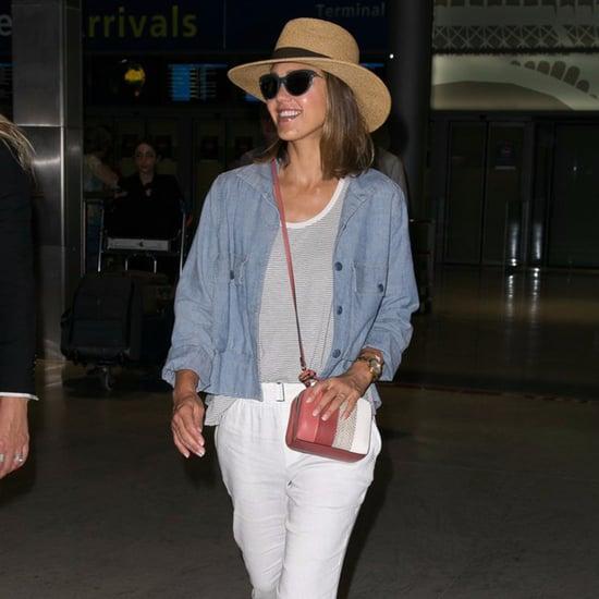 Jessica Alba Travel Style