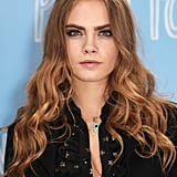 Cara Delevingne's Honey-Coloured Curls, 2015