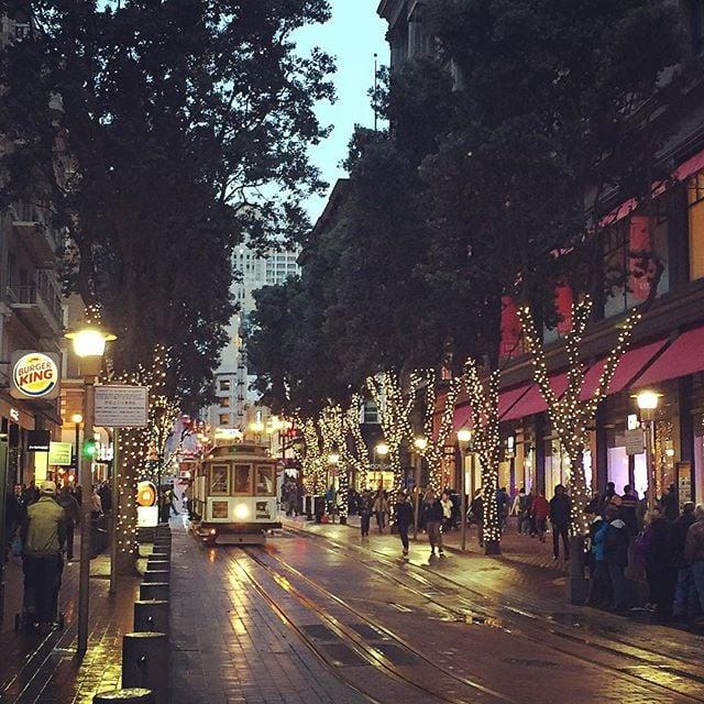 Take a Romantic Nighttime Stroll