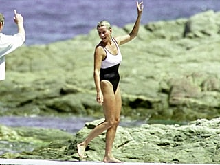 Princess Diana Owned the Coolest, Sexiest Swimsuits, and She Looked Like a Model in Them All