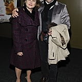 Stanley Tuccie and Tovah Feldshuh at the Landmark's Sunshine Cinema in NYC.
