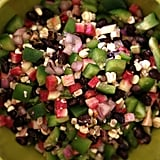 Vegan: Black Bean, Corn, and Radish Salad