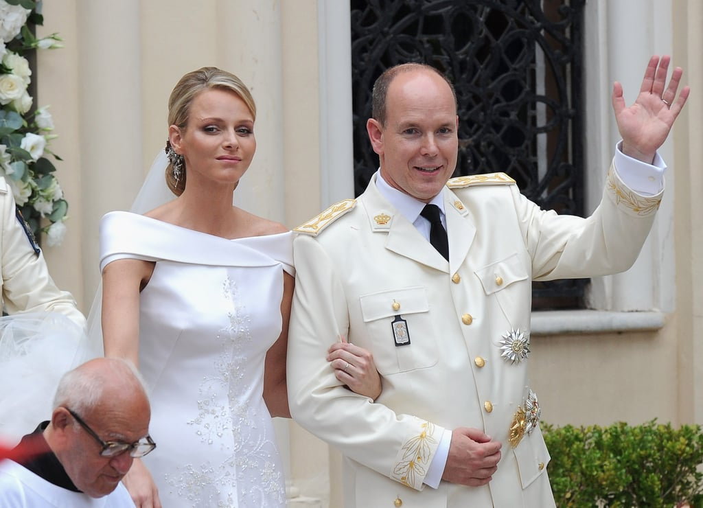 Princess Charlene Runaway Bride at Prince Albert Wedding