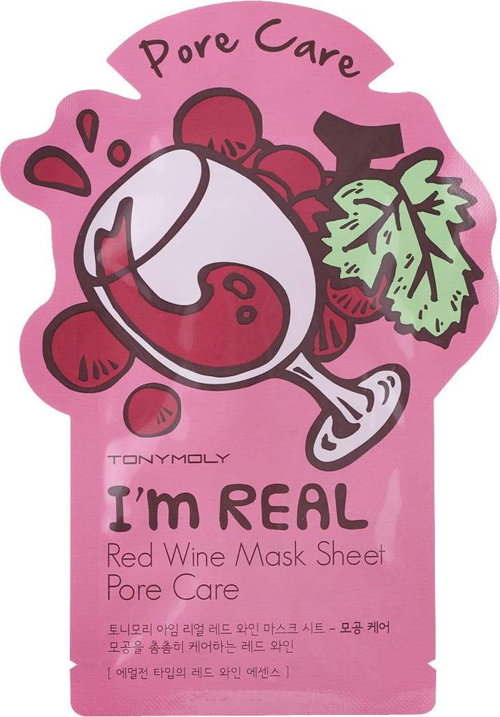 Tony Moly I'm Real Red Wine Mask Sheet