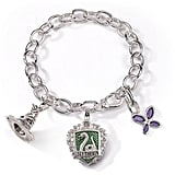The Noble Collection Slytherin Charm Bracelet ($49)