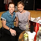 Abbie Cornish enjoyed a table at an after party.