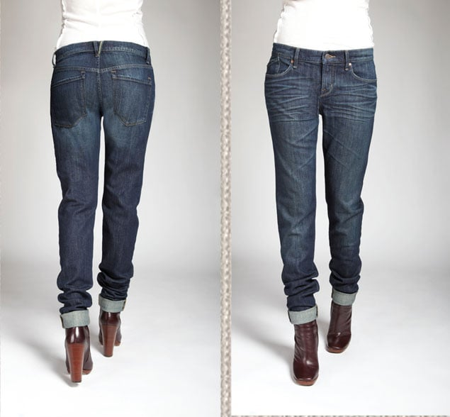 Slouchy Slim Jean in Bergen Wash, $168