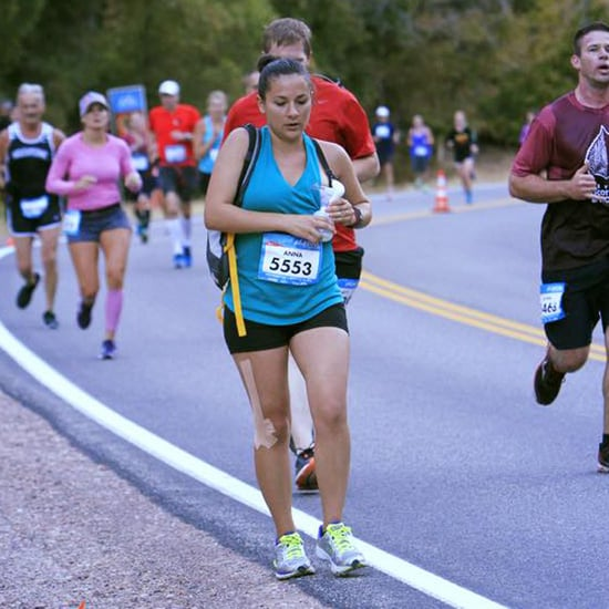 Mom Pumping While Running a Half Marathon