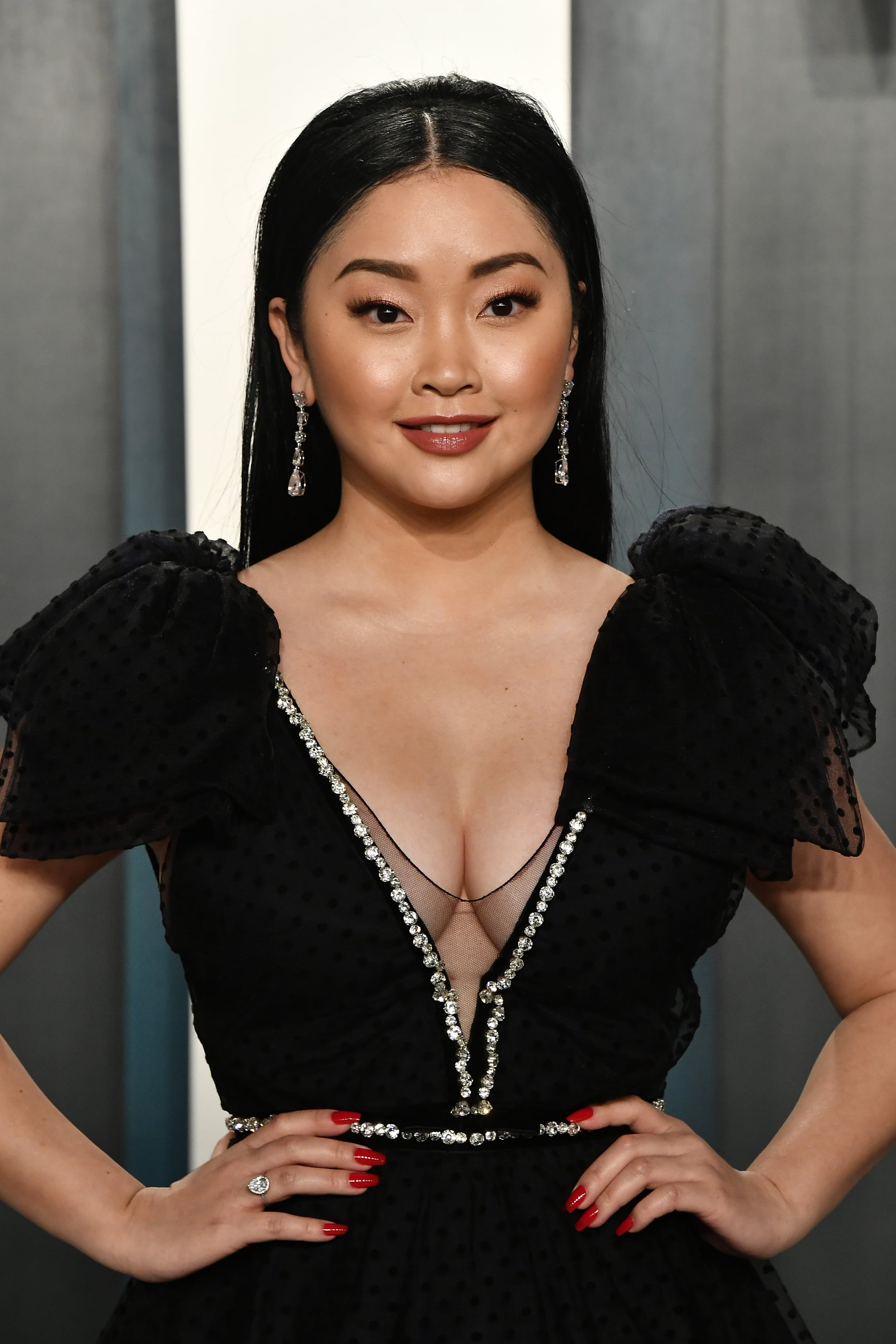BEVERLY HILLS, CALIFORNIA - FEBRUARY 09: Lana Condor attends the 2020 Vanity Fair Oscar Party hosted by Radhika Jones at Wallis Annenberg Centre for the Performing Arts on February 09, 2020 in Beverly Hills, California. (Photo by Frazer Harrison/Getty Images)
