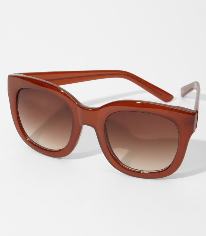 Love a thick, chunky frame? Try this brownish option from Fred Flare ($12).