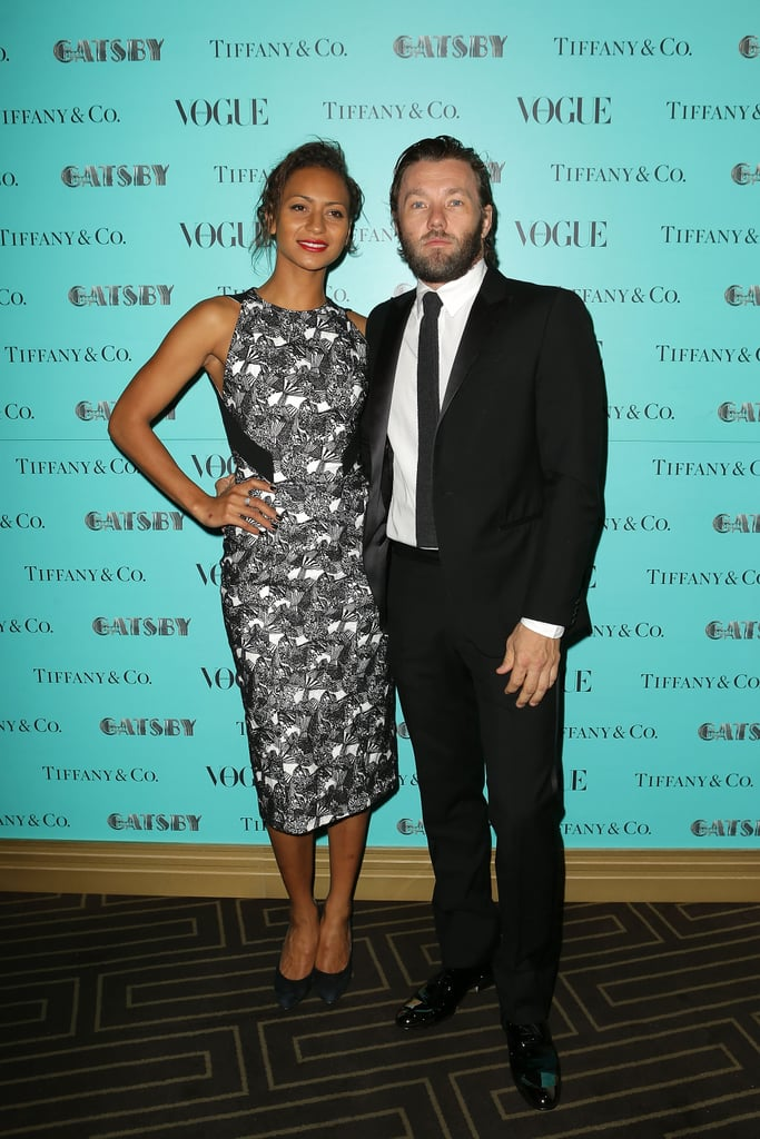 Alexis Blake and Joel Edgerton