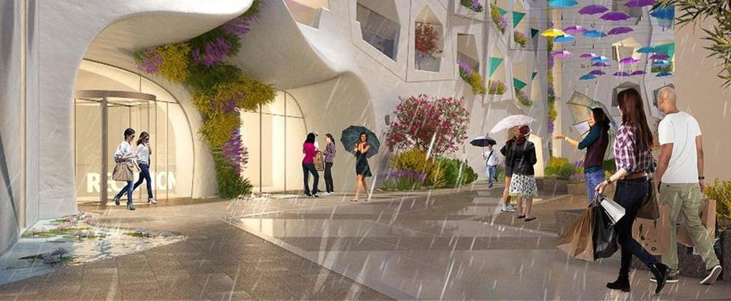Everything You Need to Know About Dubai's Raining Street