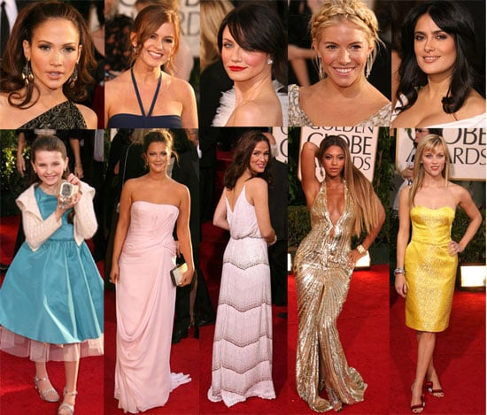 The Ladies Glow at the Golden Globes