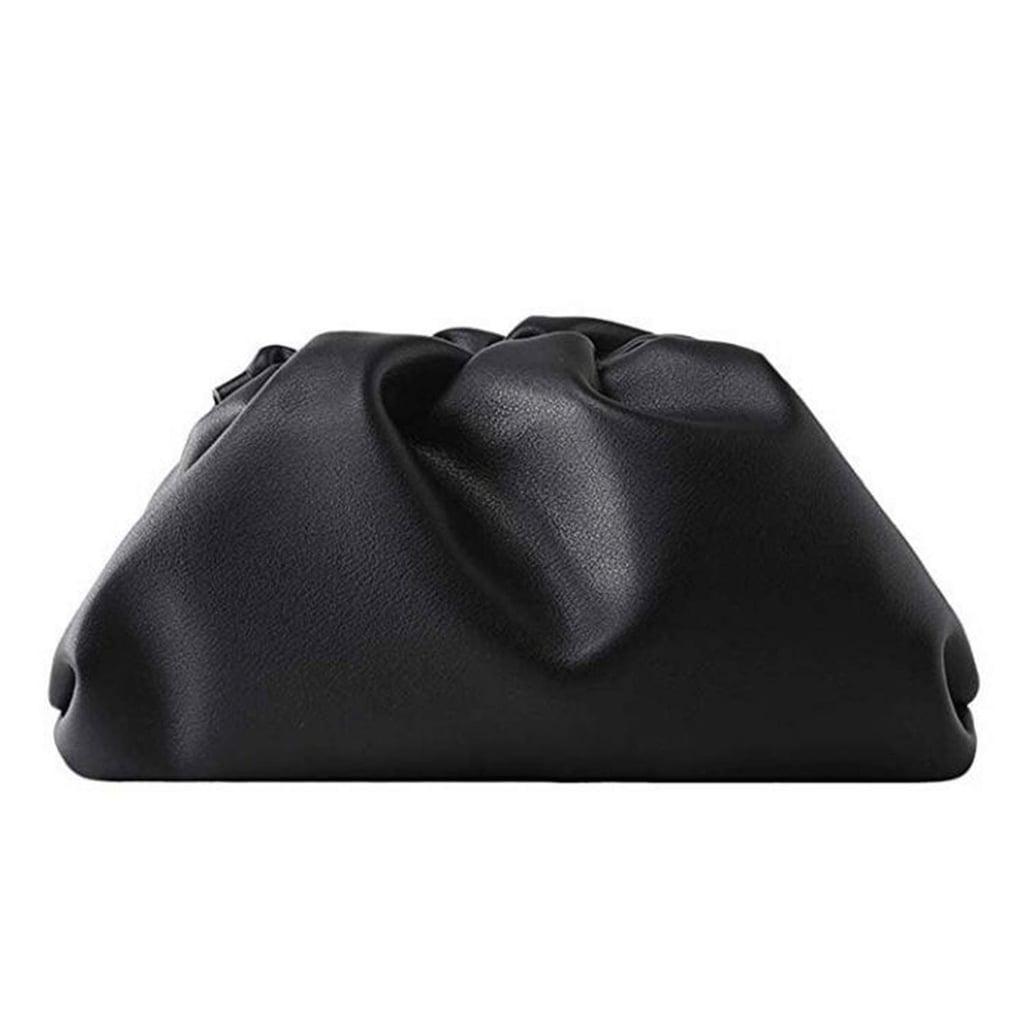Leather Dumpling Cloud Bag