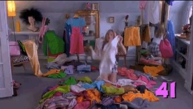 Clothing has overtaken your bedroom.