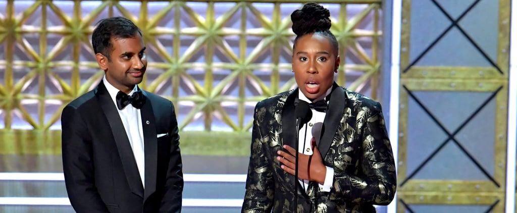 The Admirable Reason Aziz Ansari Didn't Speak During His Emmys Acceptance Speech