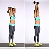 Triset 3, Exercise 2: Dumbbell Triceps Extension